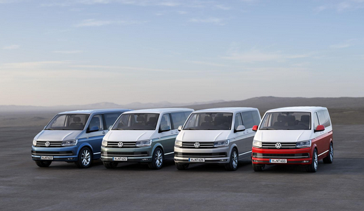 VW T6 California ボディカラー