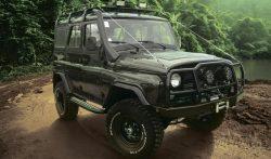 UAZ HUNTER ジャングルエディション