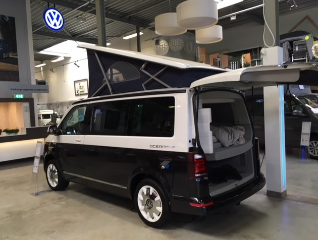 VW T6 California Ocean Blue