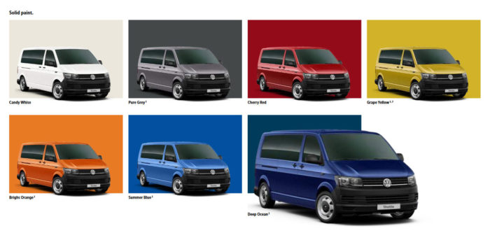VW T6 Transporter Shuttle